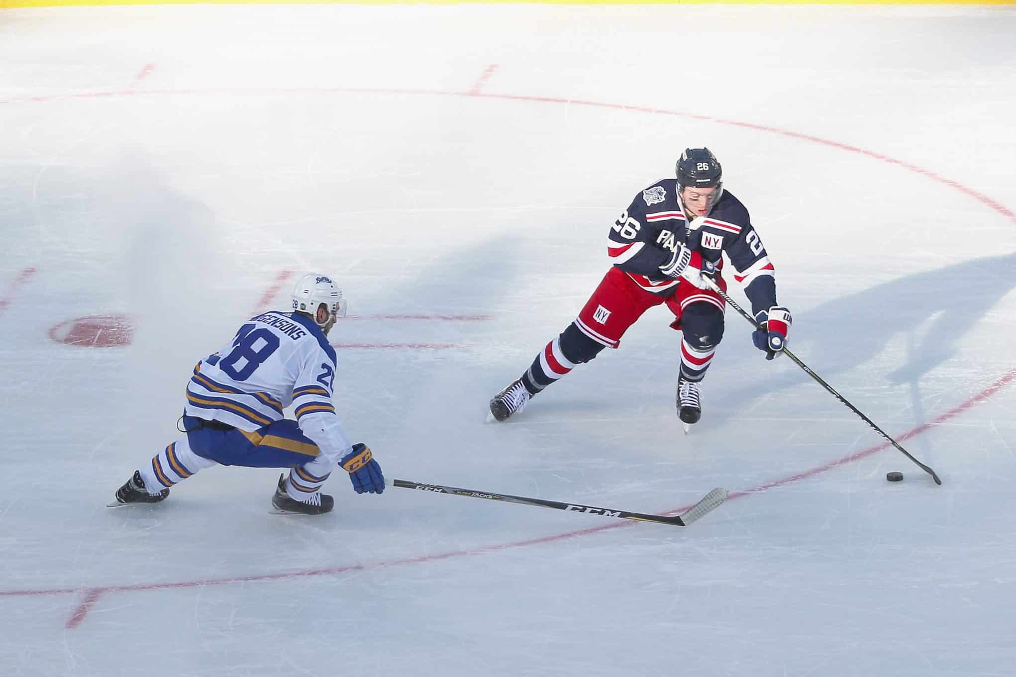 Rangers are giving Jimmy Vesey every opportunity to succeed