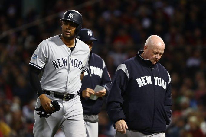 NewYork Yankees Aaron Hicks