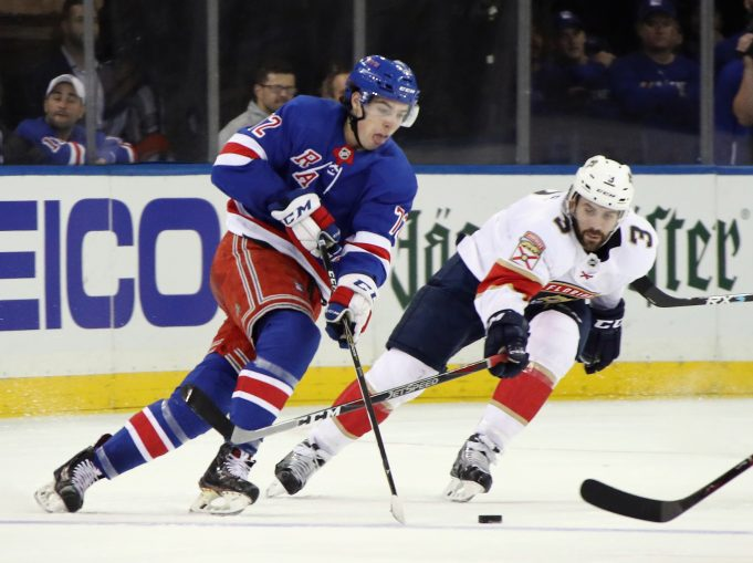 Filip Chytil is better off with the Rangers in the NHL
