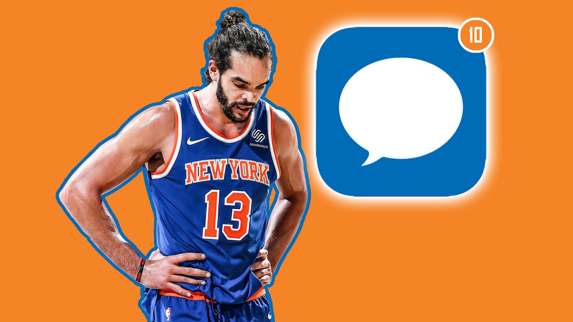 01badfbcb9c2 New York Knicks  Top 10 texts Joakim Noah received after his ouster