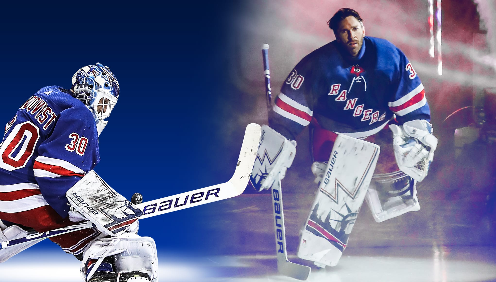promo code a6ccf 8b894 New York Rangers: Henrik Lundqvist is carrying the ...