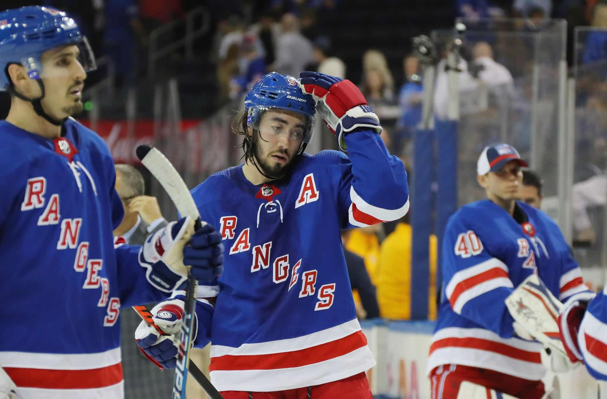 The New York Rangers can only blame themselves