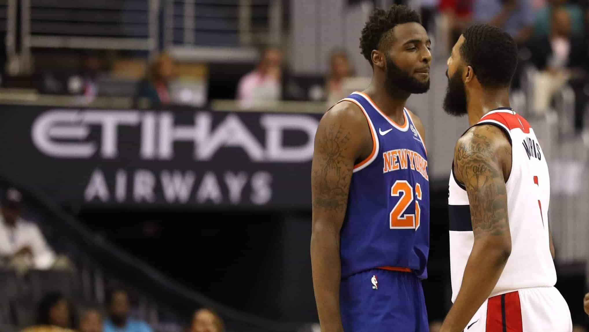 New York Knicks Mitchell Robinson