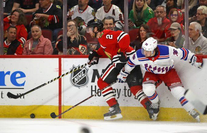 New York Rangers fall to Blackhawks