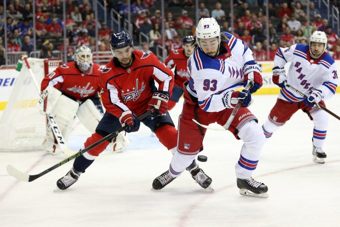 Rangers fall to capitals