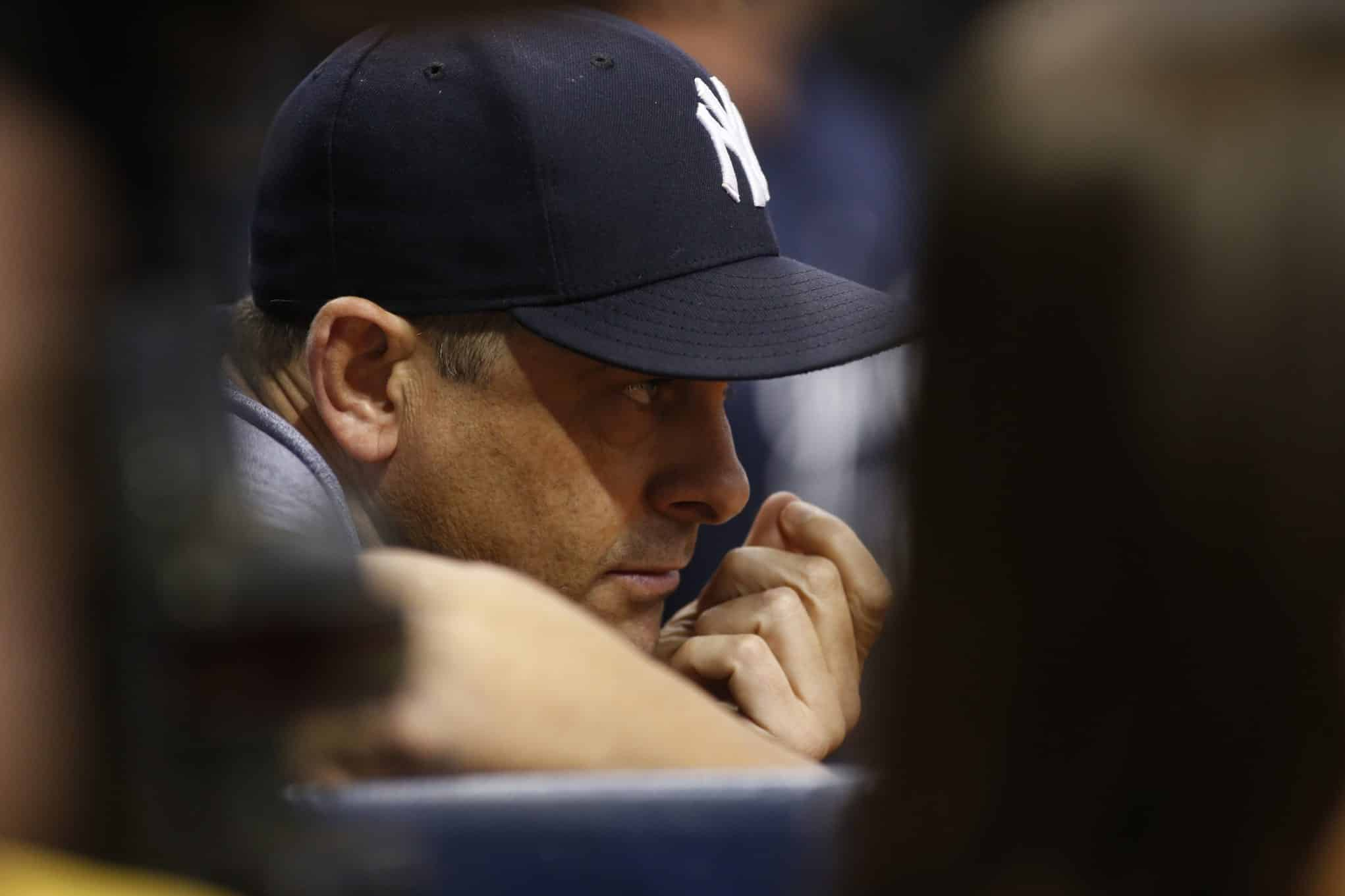 Aaron Boone passed his firs playoff test