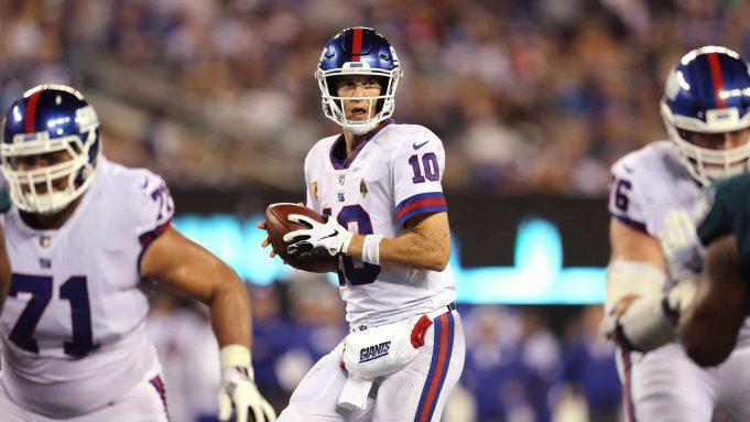 New York Giants Eli Manning