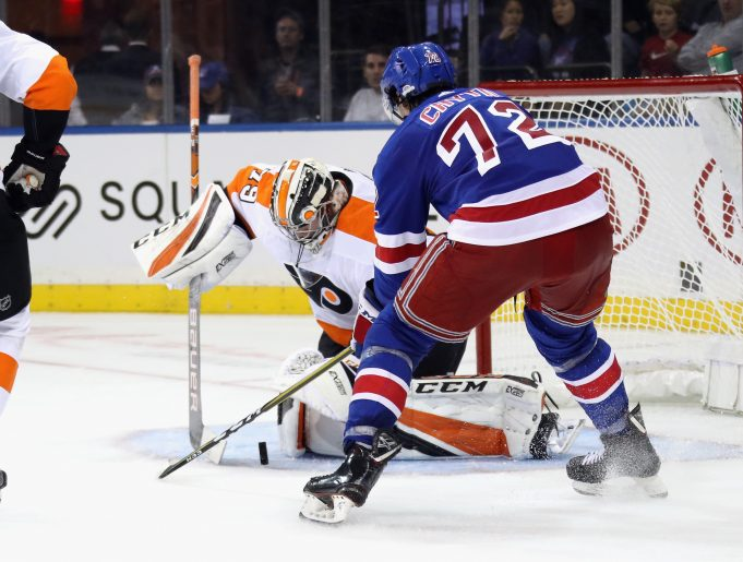 Filip Chytil moved to the wing