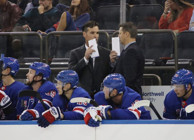 David Quinn is making more moves for the Rangers