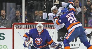 How Robin Lehner and the New York Islanders are relying on each other this season