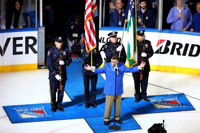 New York Rangers honor John Amirante