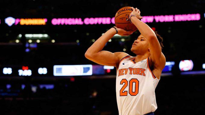 New York Knicks Kevin Knox
