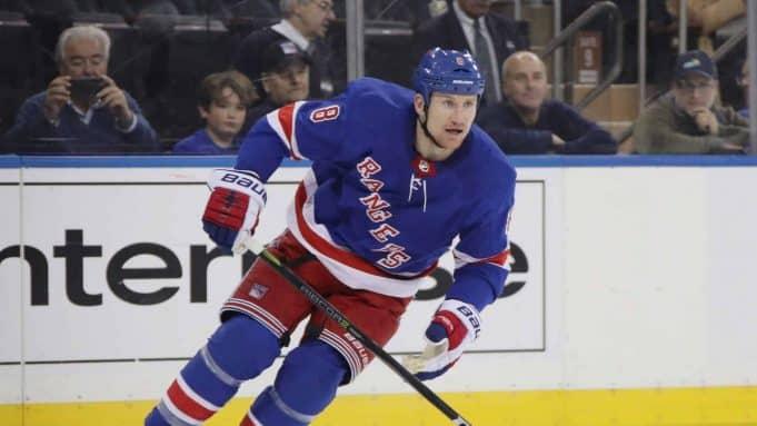 New York Rangers, Cody McLeod
