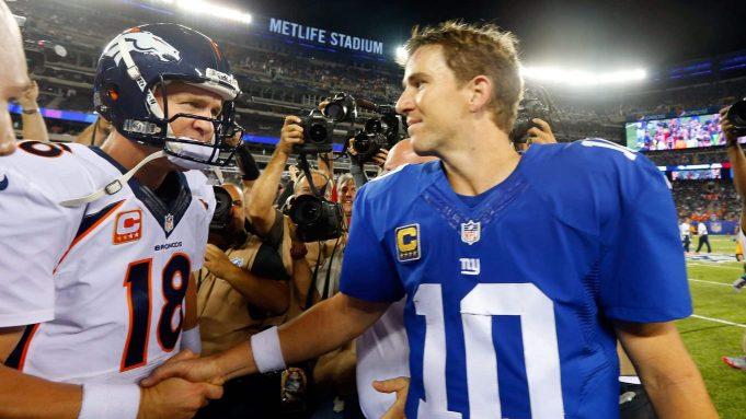 Peyton Manning Eli Manning