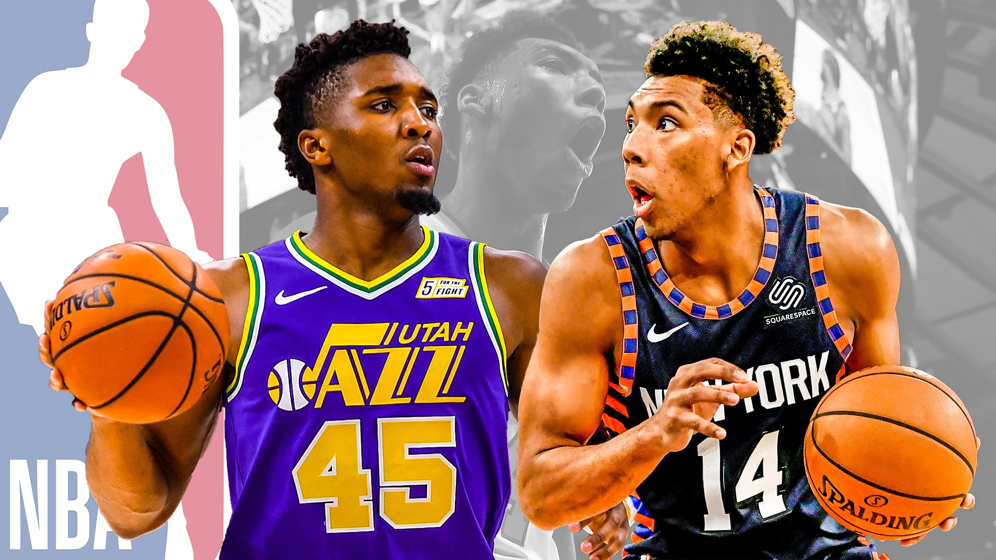 huge selection of 7ac5f 1f42b New York Knicks G Allonzo Trier has Donovan Mitchell DNA