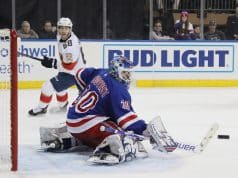 Henrik Lundqvist moves up on NHL all-time wins list