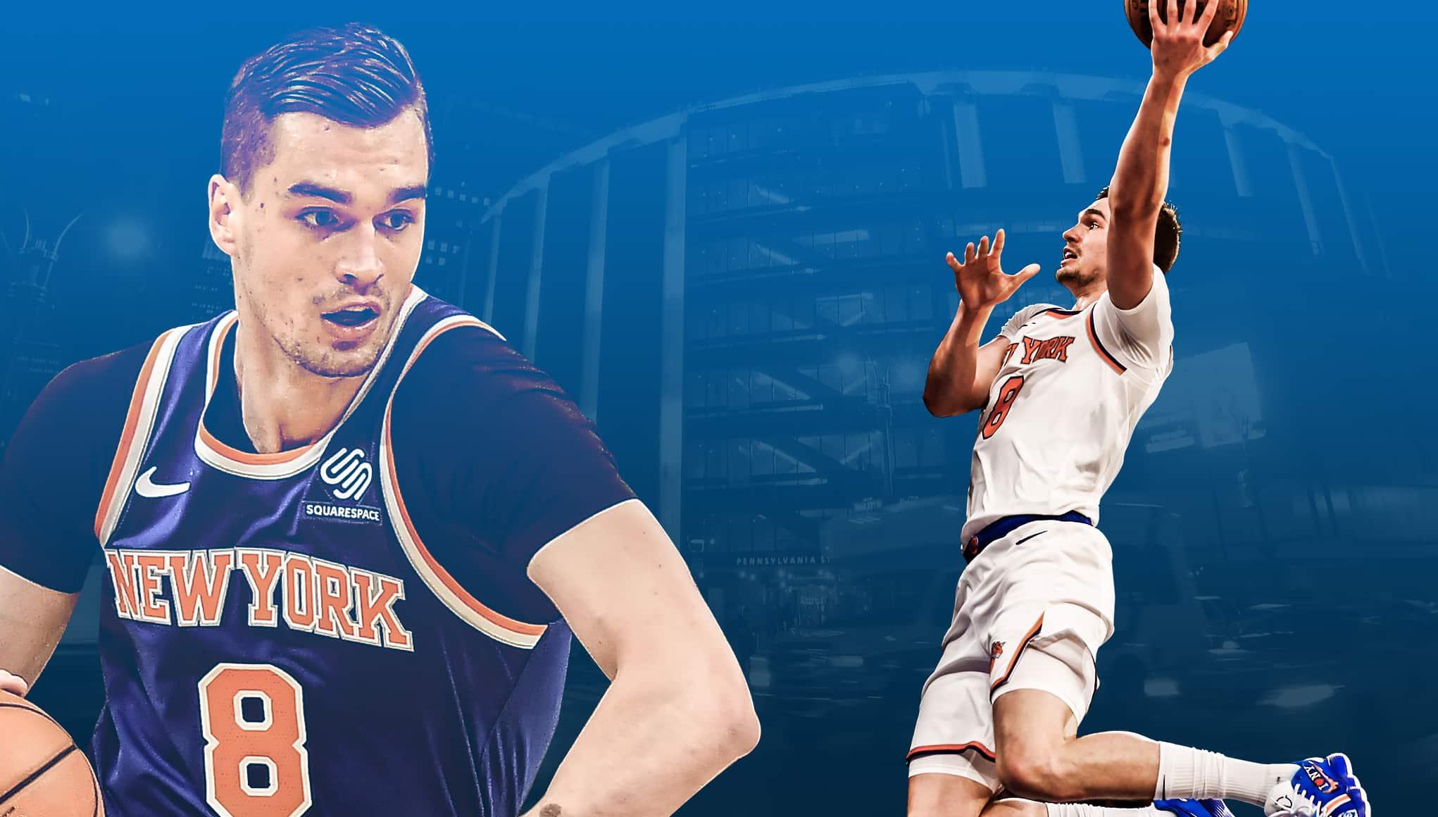 New York Knicks Mario Hezonja