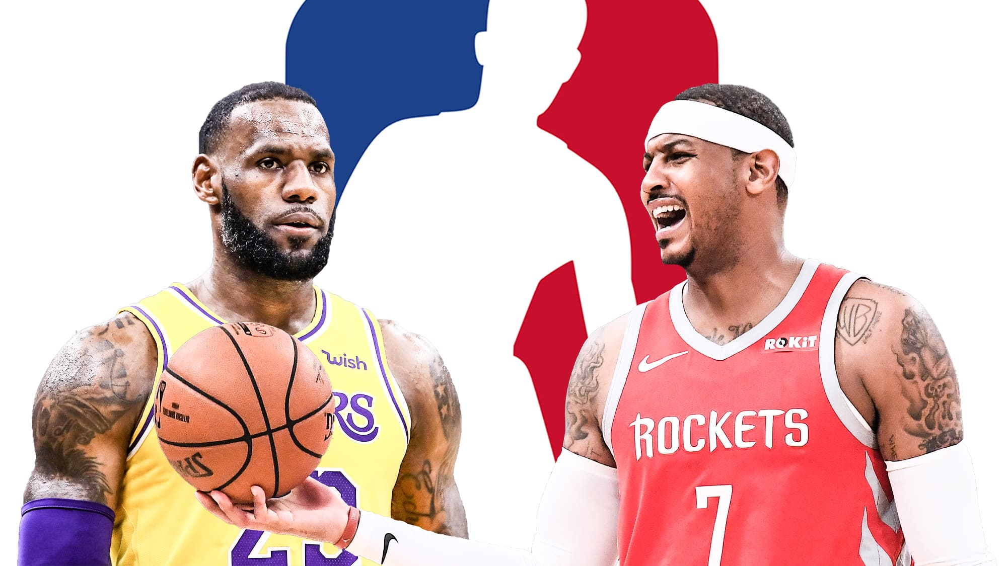 9952d0c2cd43 LeBron James shuts down Carmelo Anthony to Los Angeles Lakers idea (Video)