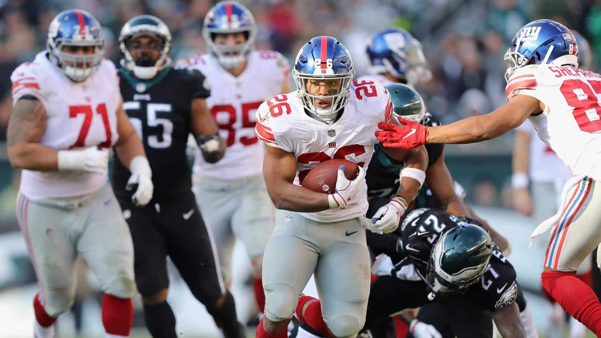 1f85d277ed8 New York Giants failed Saquon Barkley and their slim playoff hopes suffer
