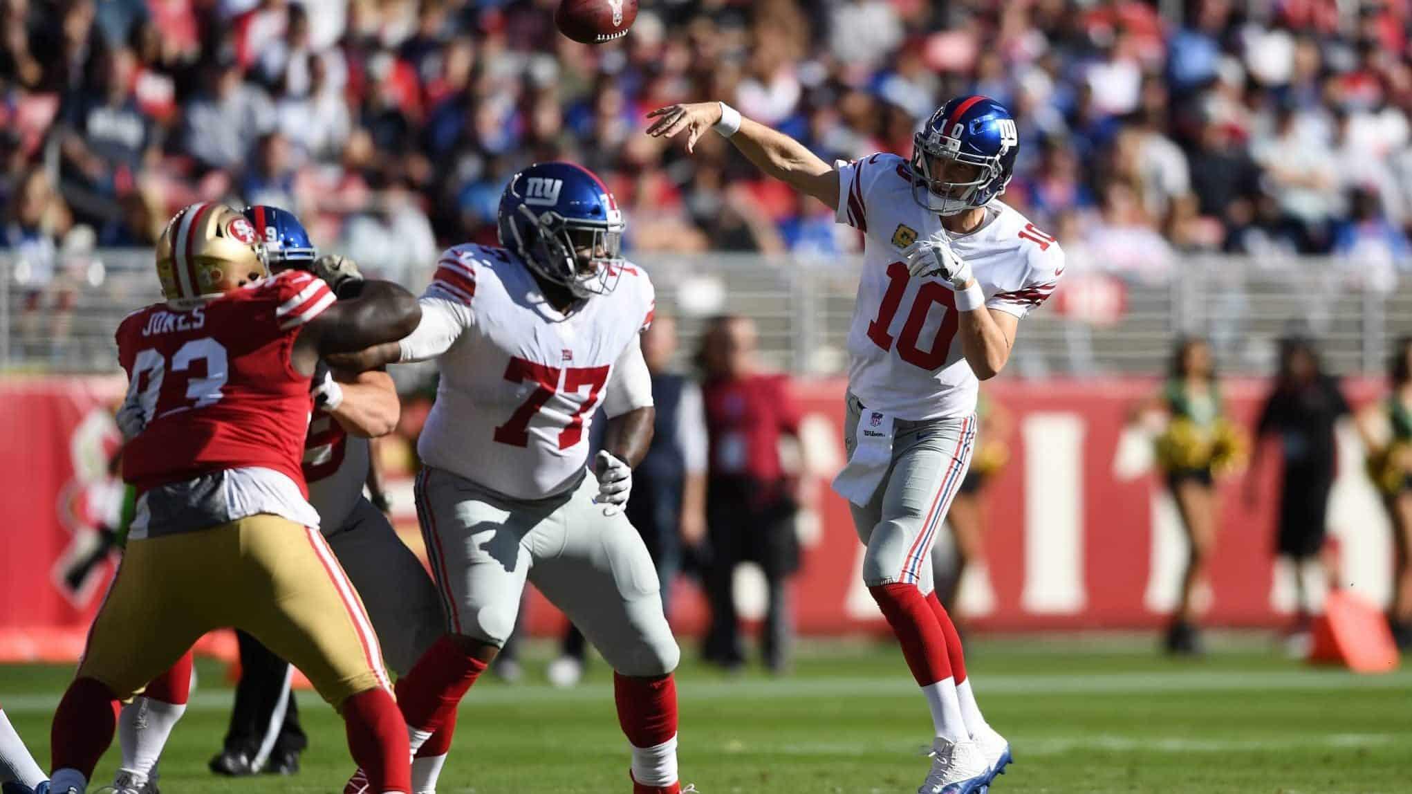 4d1cba6f New York Giants: Eli Manning's 5 best games against San Francisco 49ers