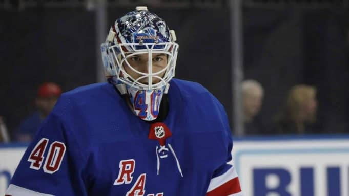 New York Rangers Alexandar Georgiev