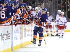 New York Islanders, New York Rangers, Thomas Hickey, Barclays Center