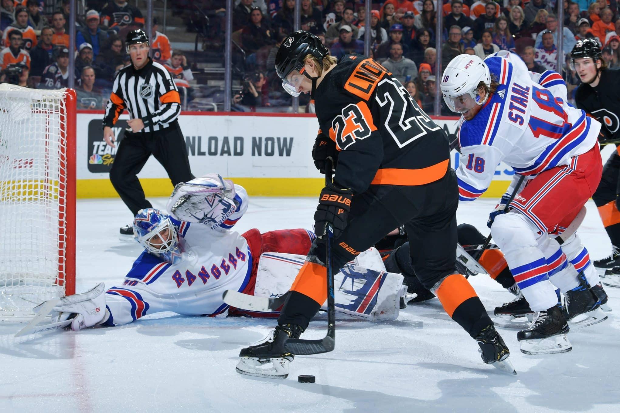 Henrik Lundqvist can't save Rangers