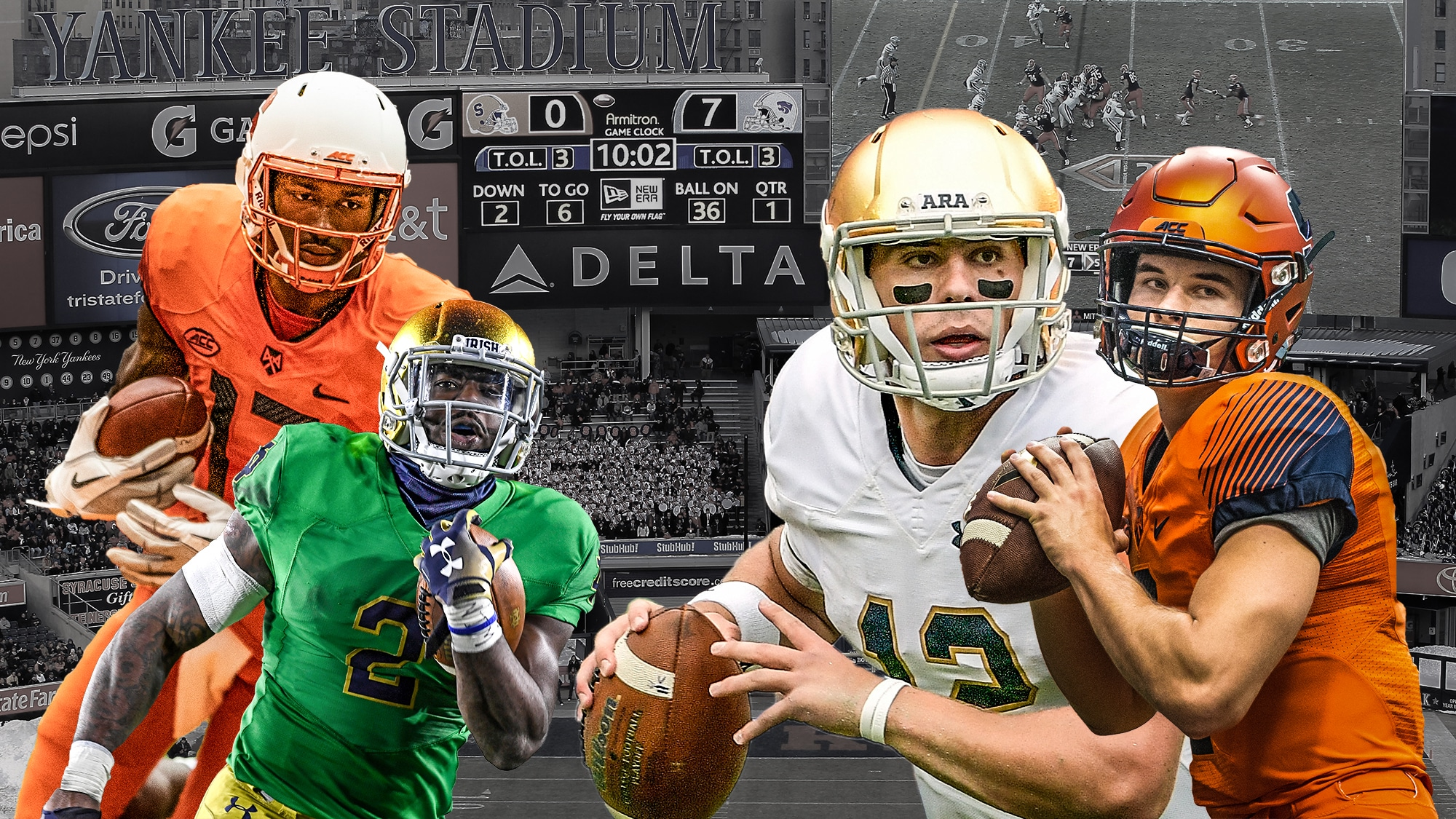 8bb06943a Notre Dame-Syracuse at Yankee Stadium  What you need to know