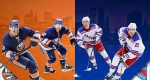 New York Rangers Islanders
