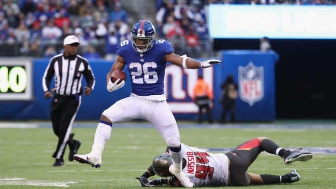 Saquan Barkley New York Giants