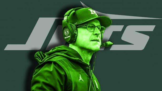 Jim Harbaugh New York Jets