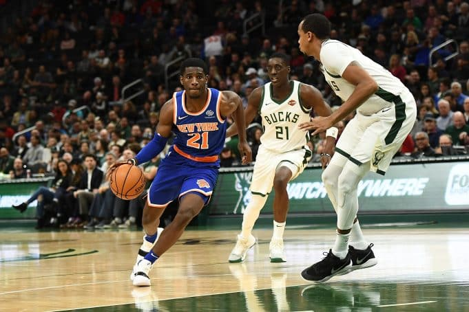 New York Knicks Damyean Dotson