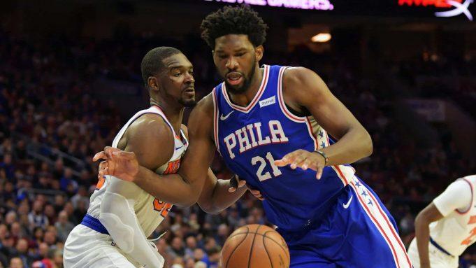 New York Knicks Noah Vonleh Joel Embiid