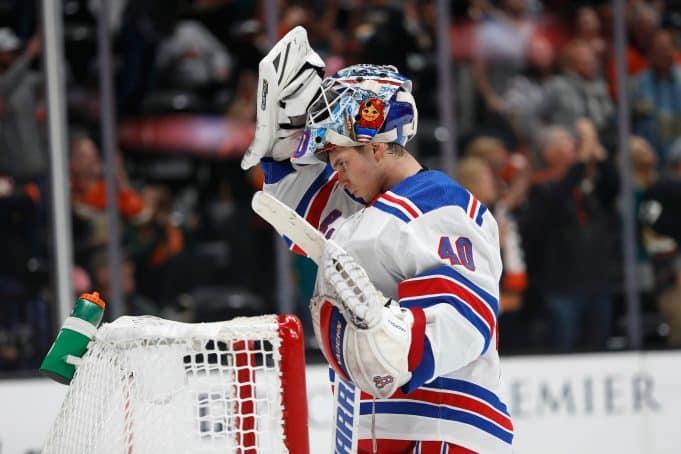 New York Rangers' Alex Georgiev enjoys playing time in Hartford