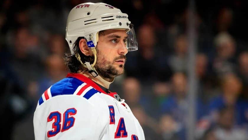 New York Rangers Mats Zuccarello