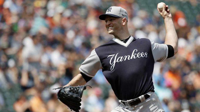 J.A. Happ New York Yankee