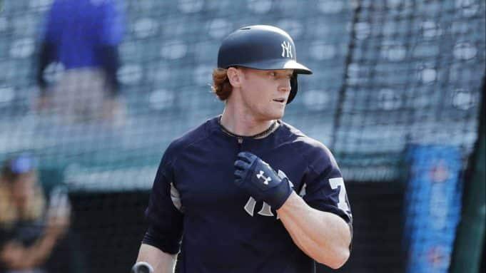 Clint Frazier New York Yankees