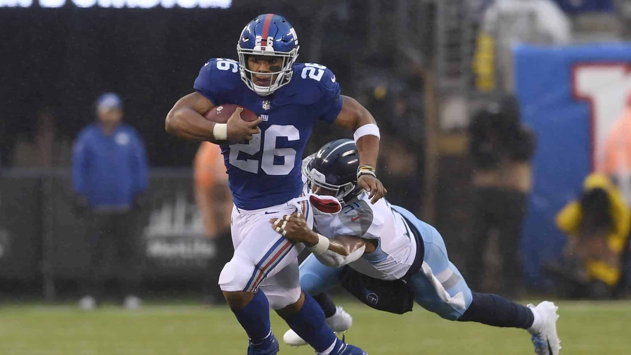 New York Giants news  Saquon Barkley doesn t expect reduced workload fa6ff7202