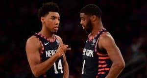 New York Knicks Allonzo Trier Emmanuel Mudiay