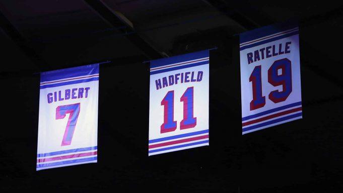 New York Rangers Vic Hadfield