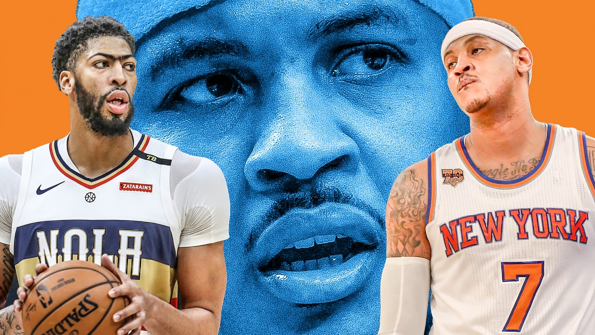 the latest 19fdb 82538 New York Knicks  Anthony Davis would not be a repeat of Carmelo Anthony