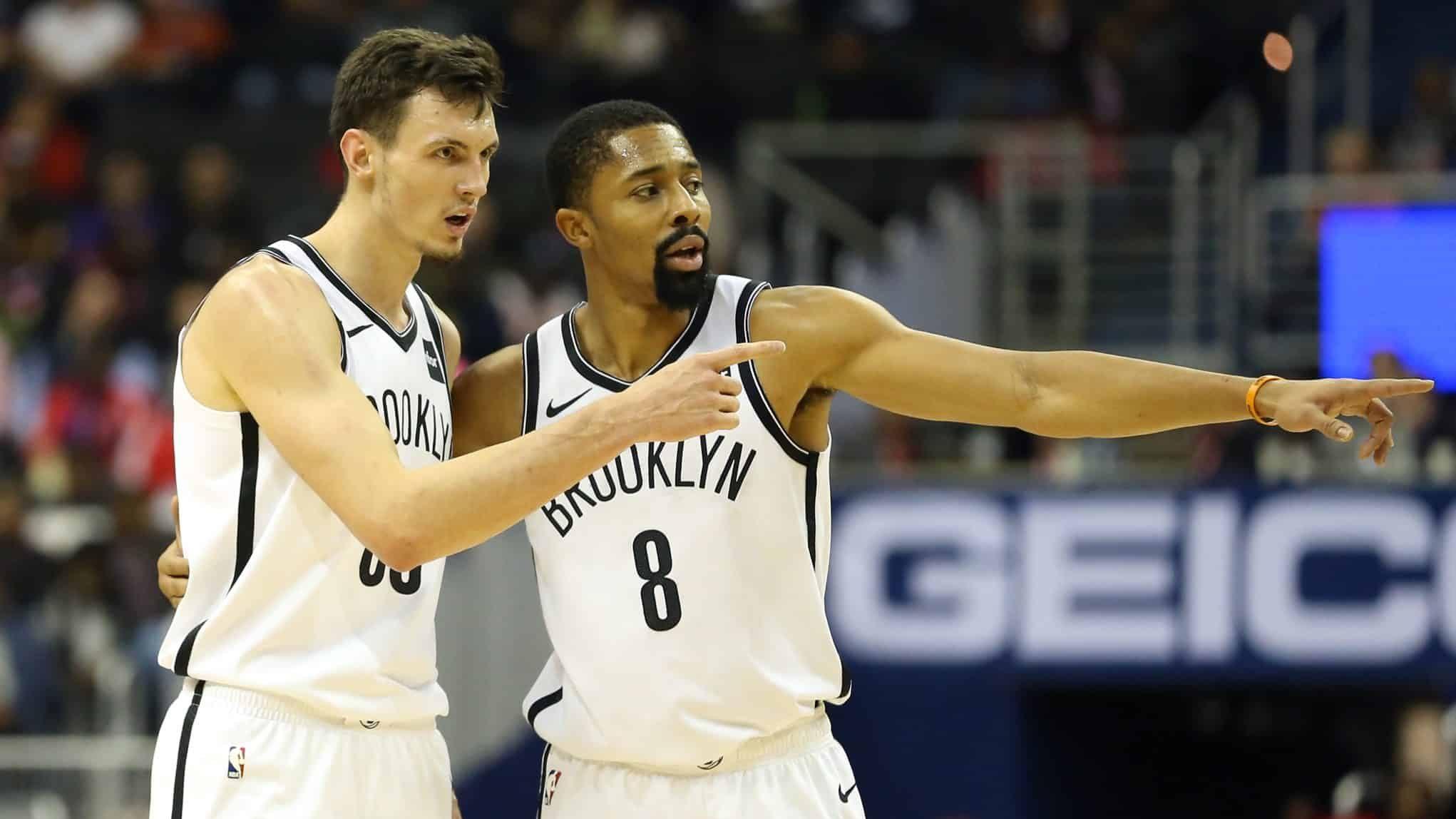 Brooklyn Nets Rodions Kurucs, Spencer Dinwiddie