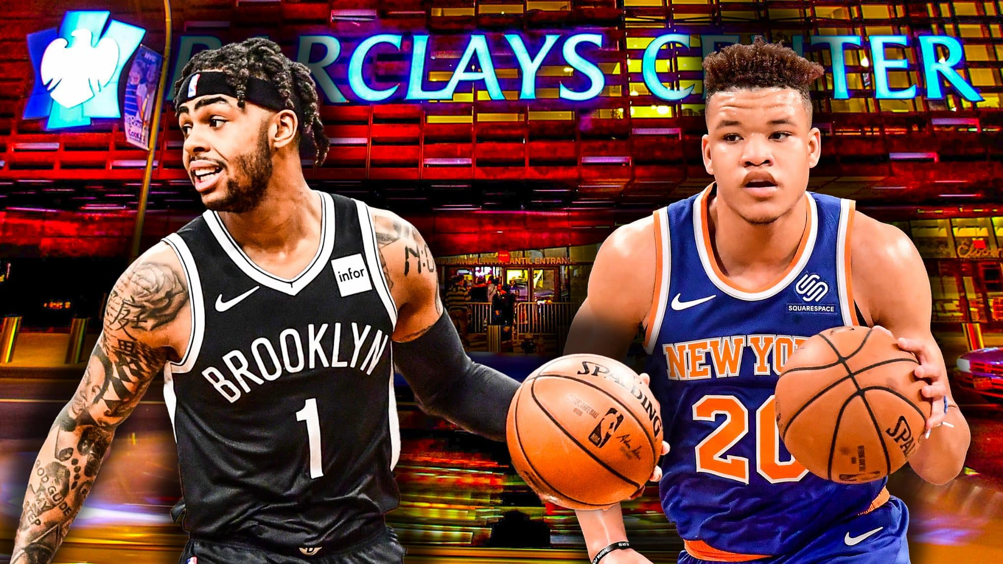 D'Angelo Russell, Kevin Knox