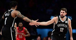 Brooklyn Nets D'Angelo Russell, Joe Harris