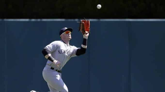 Yankees' Frazier cleared for Spring Training
