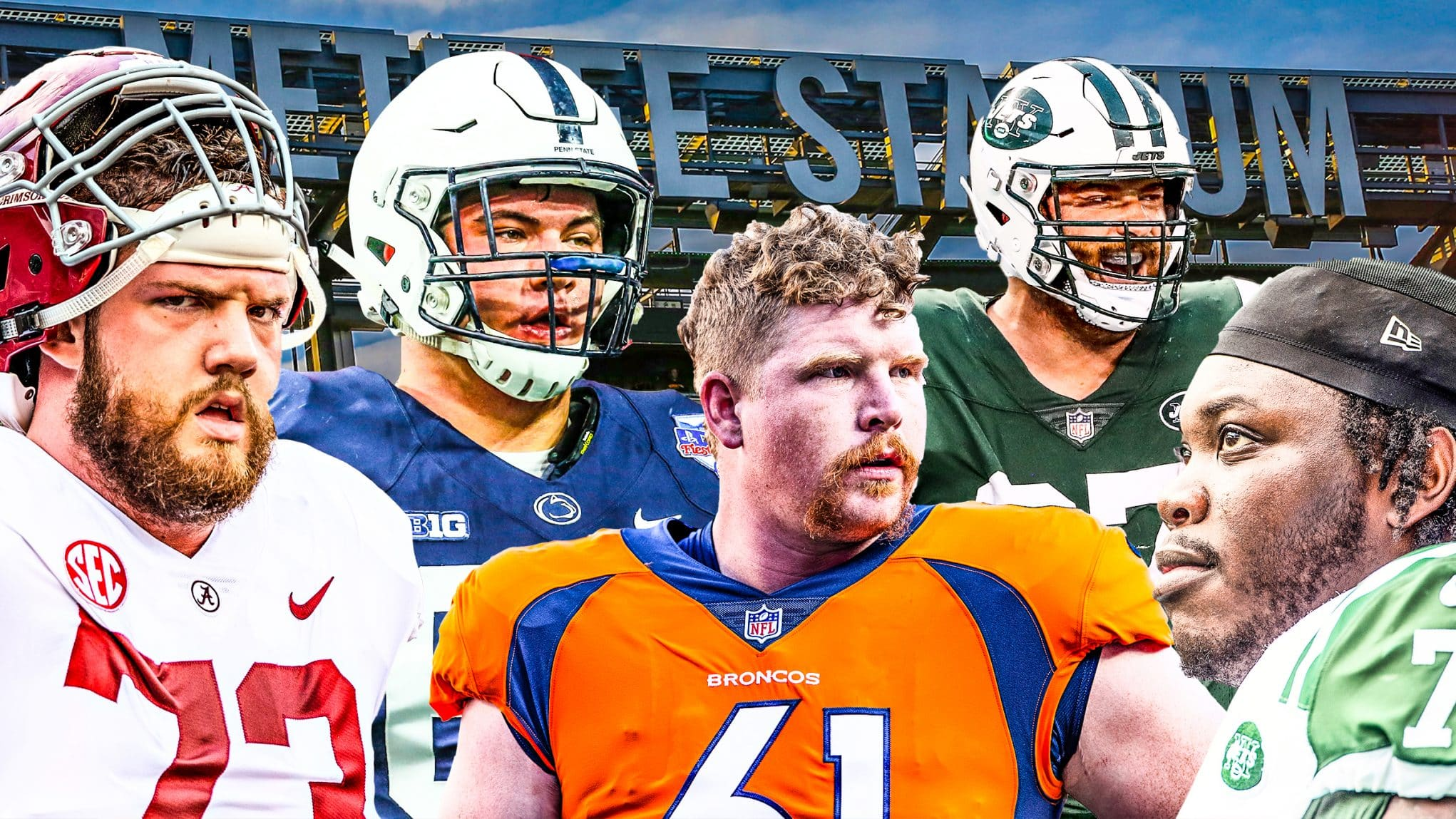 New York Jets Offensive Line