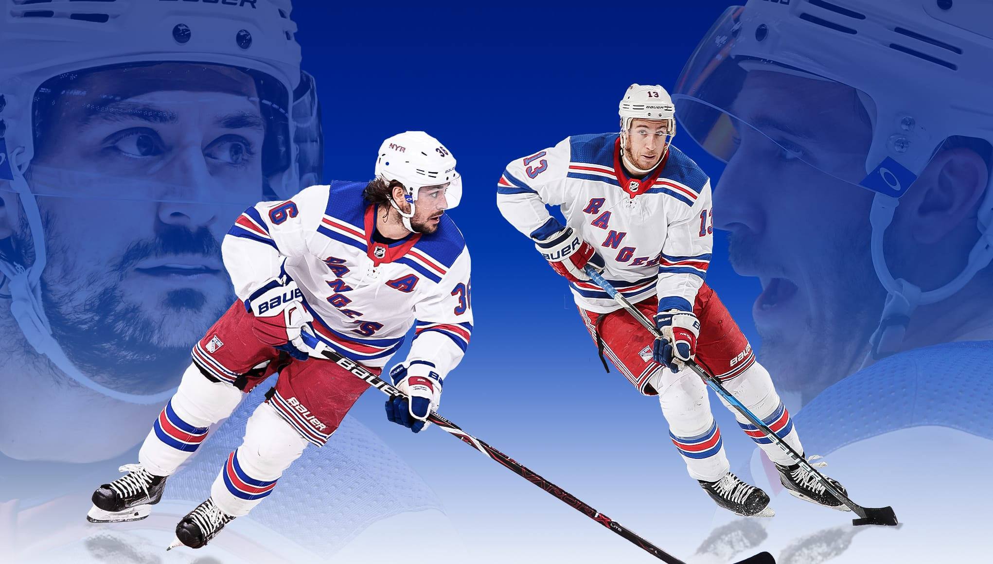 New York Rangers, Mats Zuccarello, Kevin Hayes