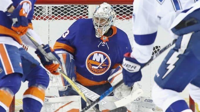 New York Islanders Thomas Greiss