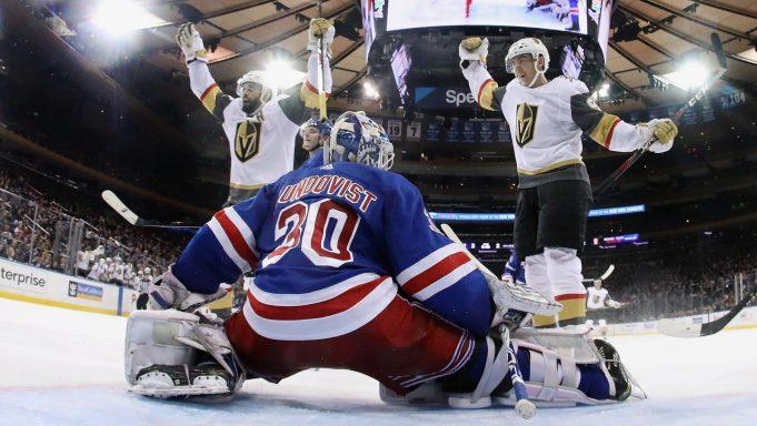 New York Rangers Henrik Lundqvist