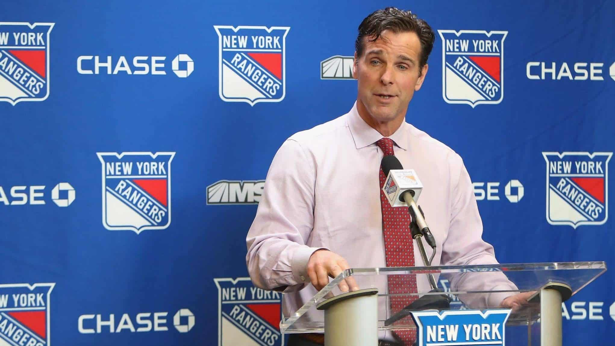 New York Rangers, David Quinn